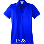 Ladies Jacquard Polo