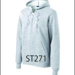 Laced Hoodie Sweatshirt
